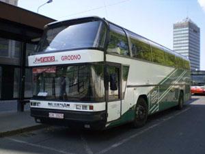 1550.1 Заказать билет на автобус Минск-Прага